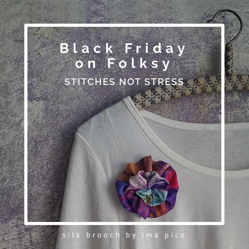 black friday, stitches not stress