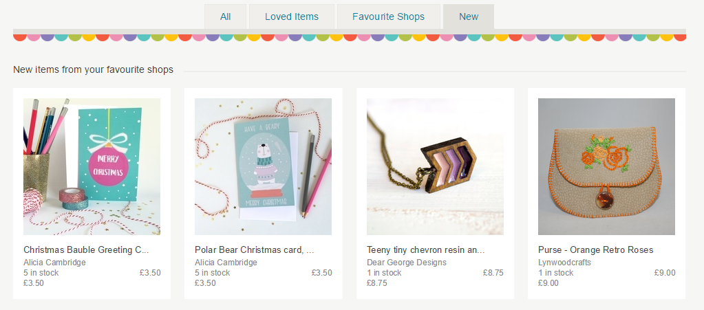 favourite folksy shops
