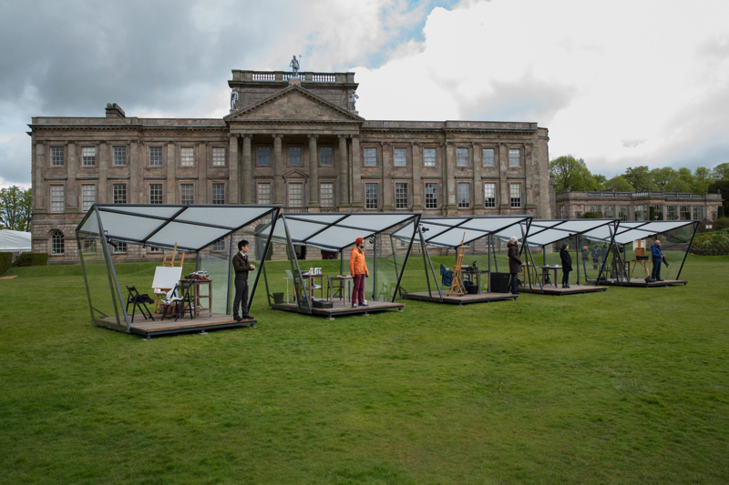 Landscape Artist Of The Year 2015, Sky Arts, James Green, Lyme Park