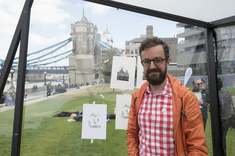 Landscape Artist Of The Year 2015, semi-final, james green, tower of london