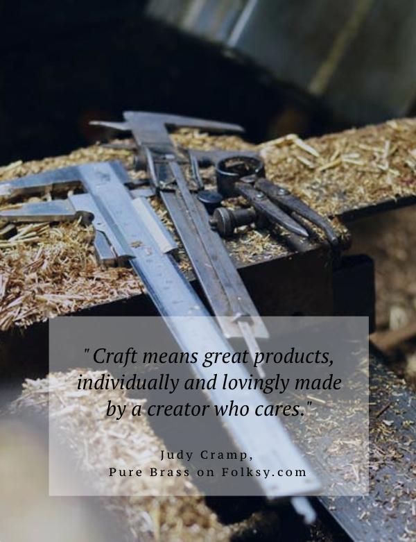 Pure Brass, artisan craft, Wales