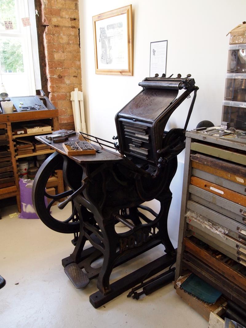 Green Room Printmakers Studio Smallprint Letterpress