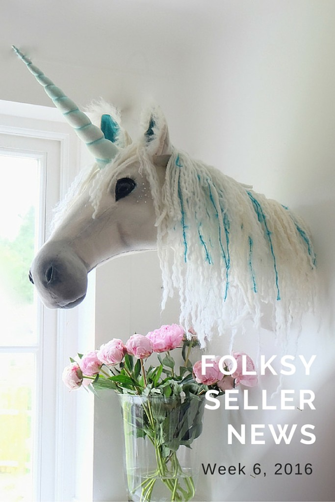 Folksy Seller News – Week 6, 2016