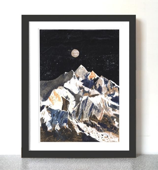 Chris Hagan, Kanchenjunga Mountain