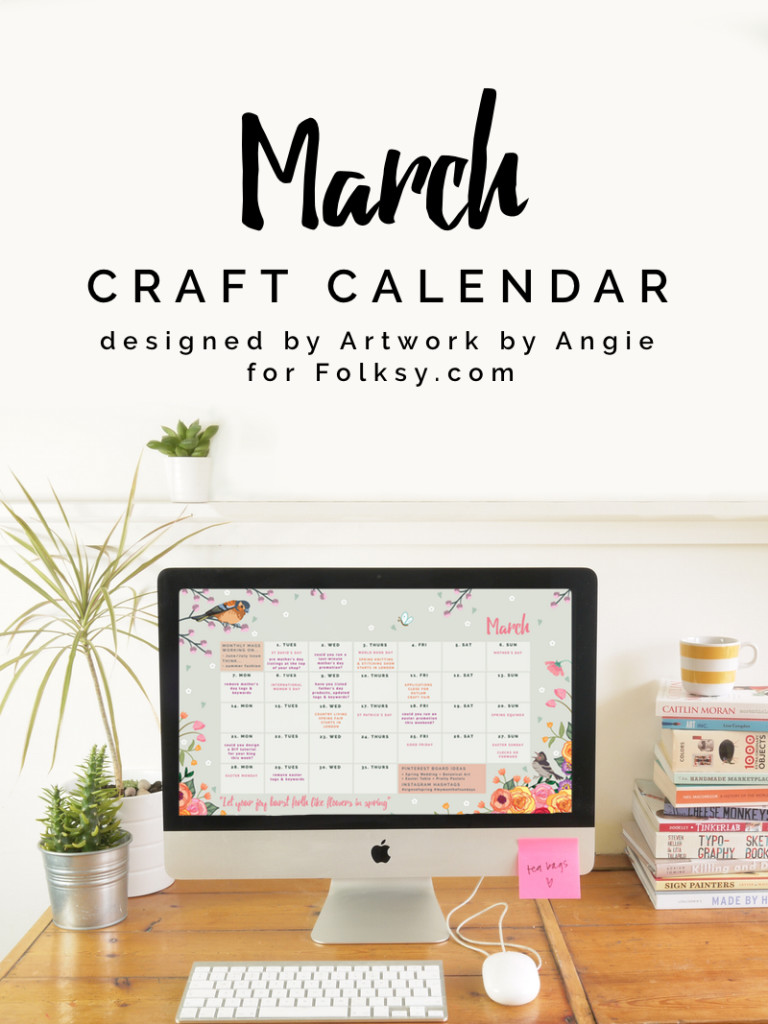 download your free desktop calendar for March 2016,