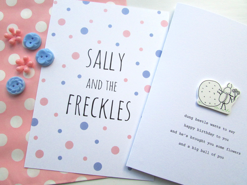 Sally and the Freckles