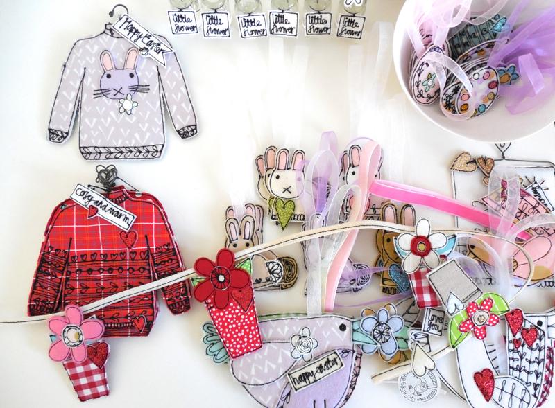 Emma Louise Corry, textile artist,