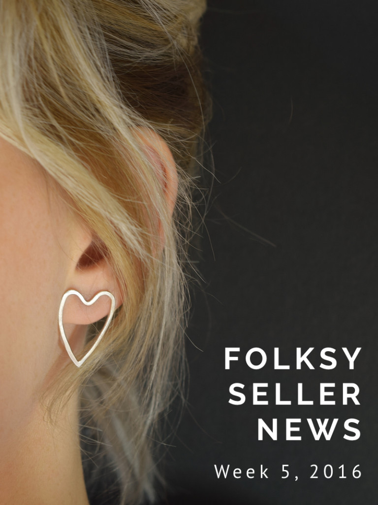 Folksy Seller News – Feb 1st 2016
