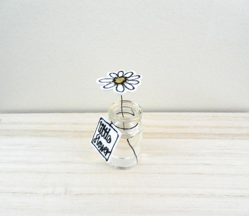 Little Fabric Flower, Emma Corry Design