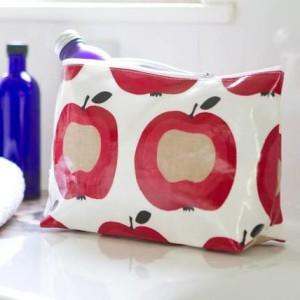 oilcloth washbag
