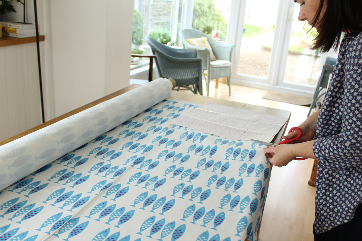 Meet Louise Brainwood - designer of Scandinavian style textiles