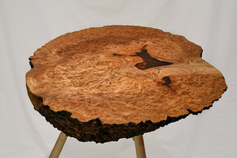 Burr Table, Clachan Wood