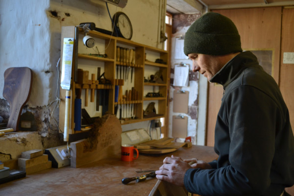 Clachan Wood, Scottish artisan and furniture maker
