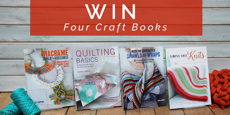 Craft Book competition, craft book giveaway