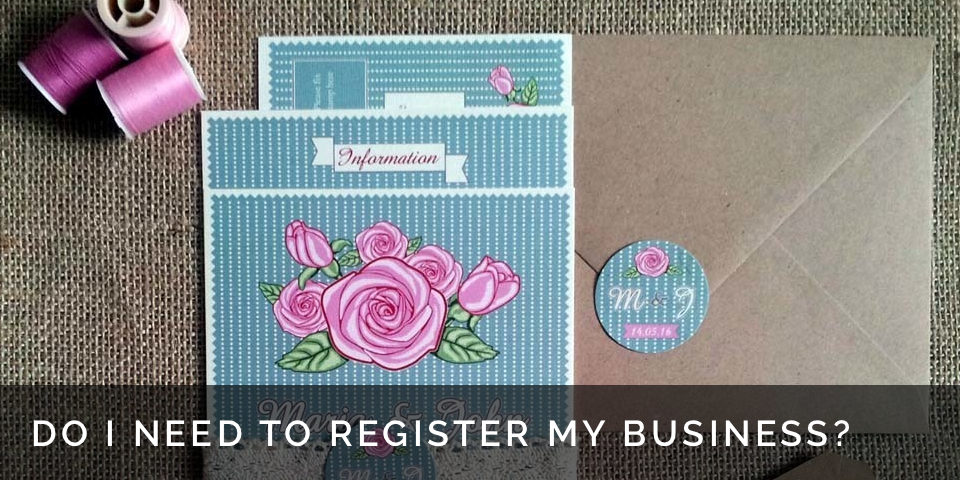 Do I need to register my craft business, tax advice for small businesses