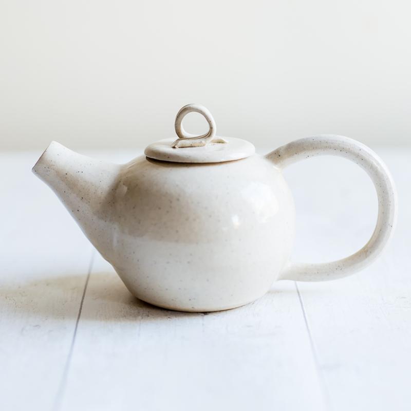 handmade teapot, ceramic teapot, Kara Leigh Ford Ceramics,