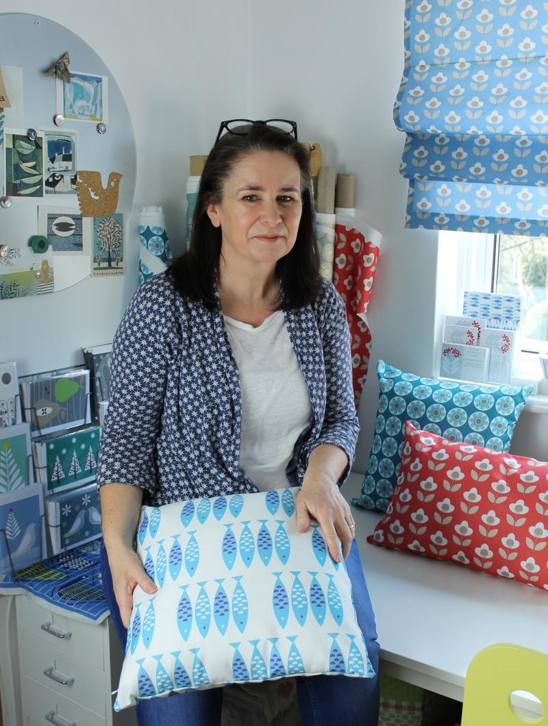 Louise Brainwood, UK textile designer