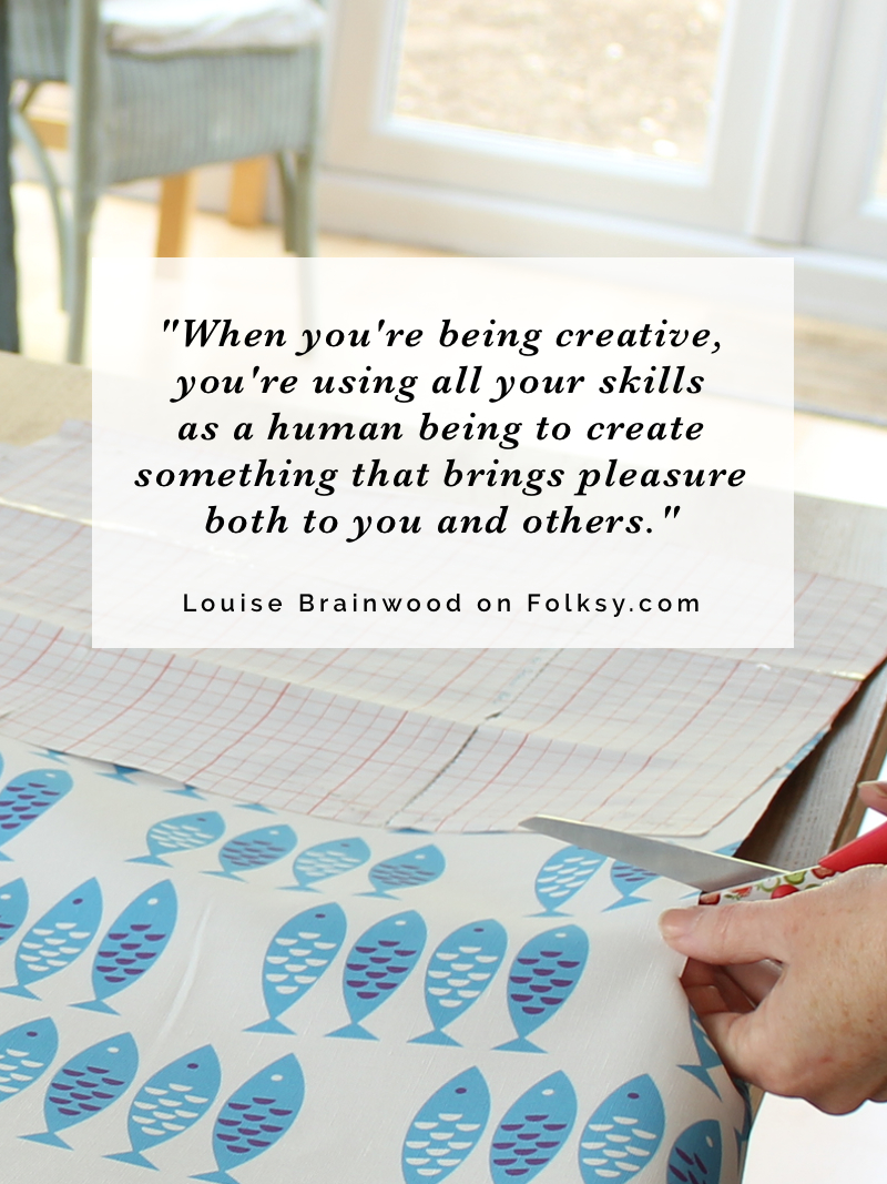 Louise Brainwood, textile artist, interview