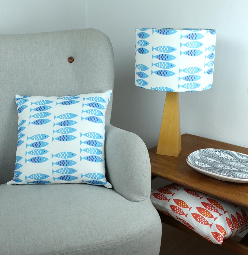 Louise Brainwood, Newlyn Fish fabric,