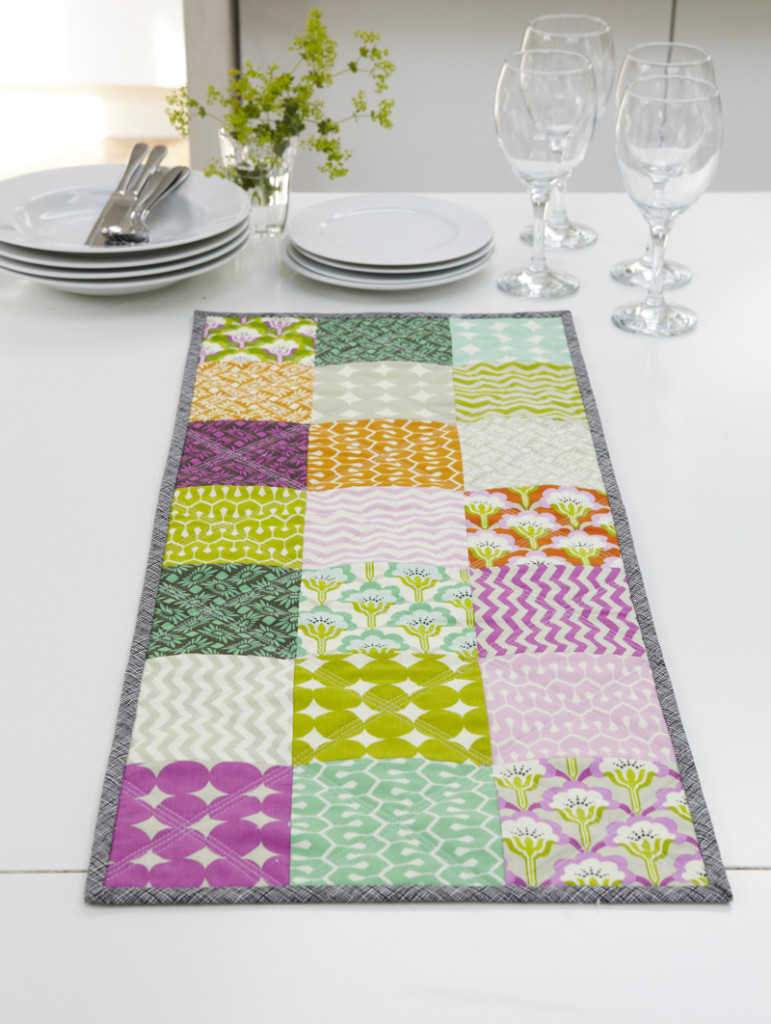 quilting basics table runner