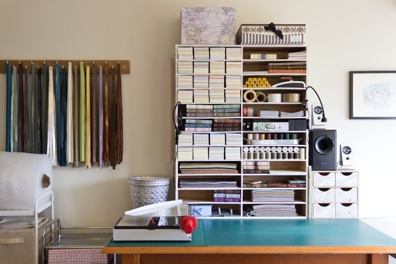bookbinding studio, dearest jackdaw,