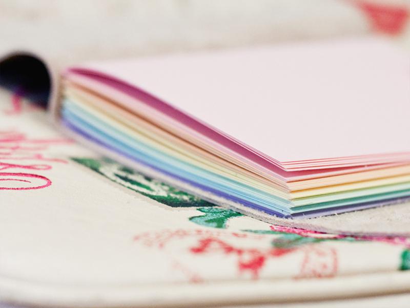book binding paper