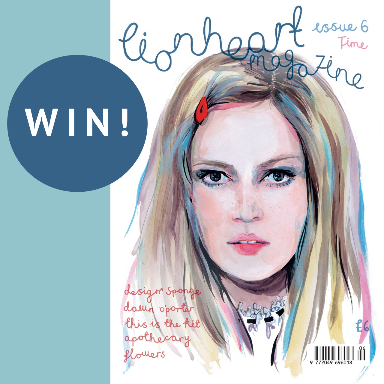 Win a copy of Lionheart Magazine –  5 copies to give away!