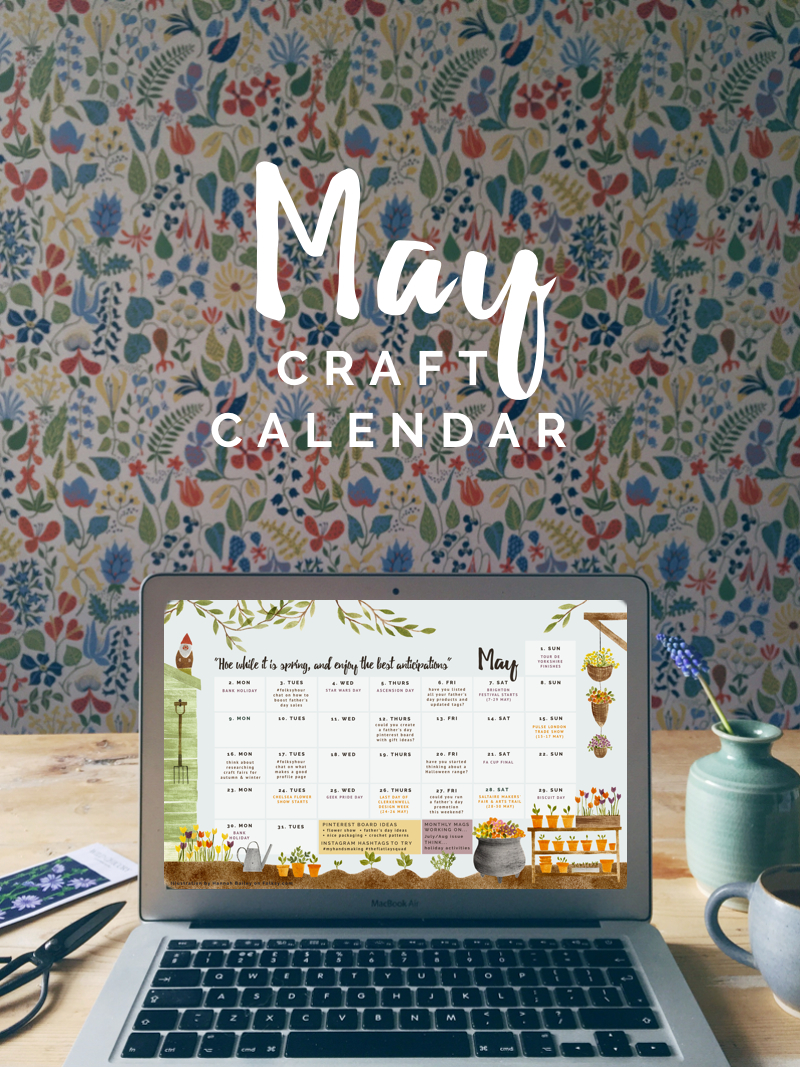 Free calendar for May 2016