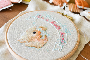 From knitting with chopsticks to embroidery hoop art: The story of Do A Little Dance