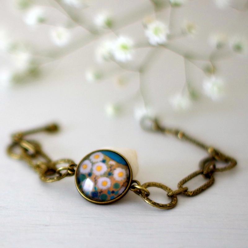 daisy bracelet, Teodora Paintings