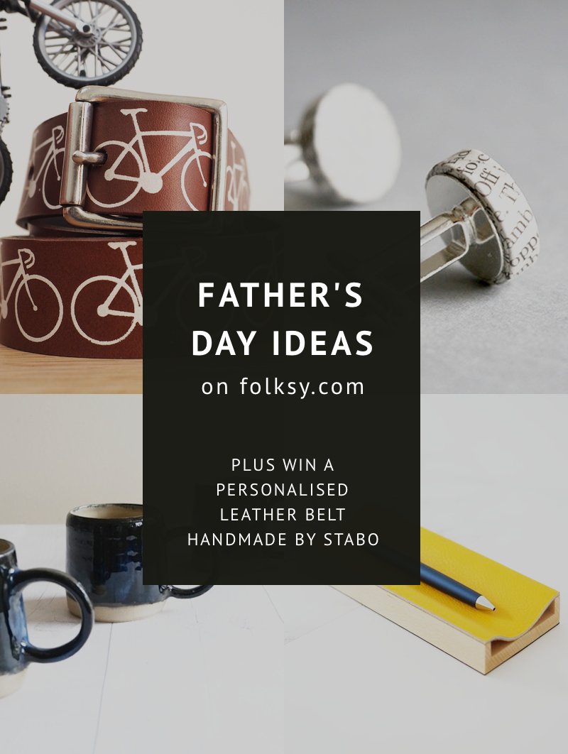 The best Father's Day ideas – PLUS win a personalised Father's Day belt!