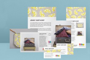 Custom MOO cards, postcards and flyers for Folksy sellers