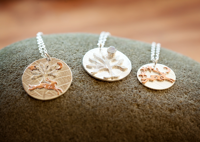 silverhares, diane lee, handmade jewellery, jewellery, british jeweller