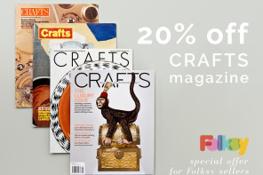 20% off Crafts Magazine subscription