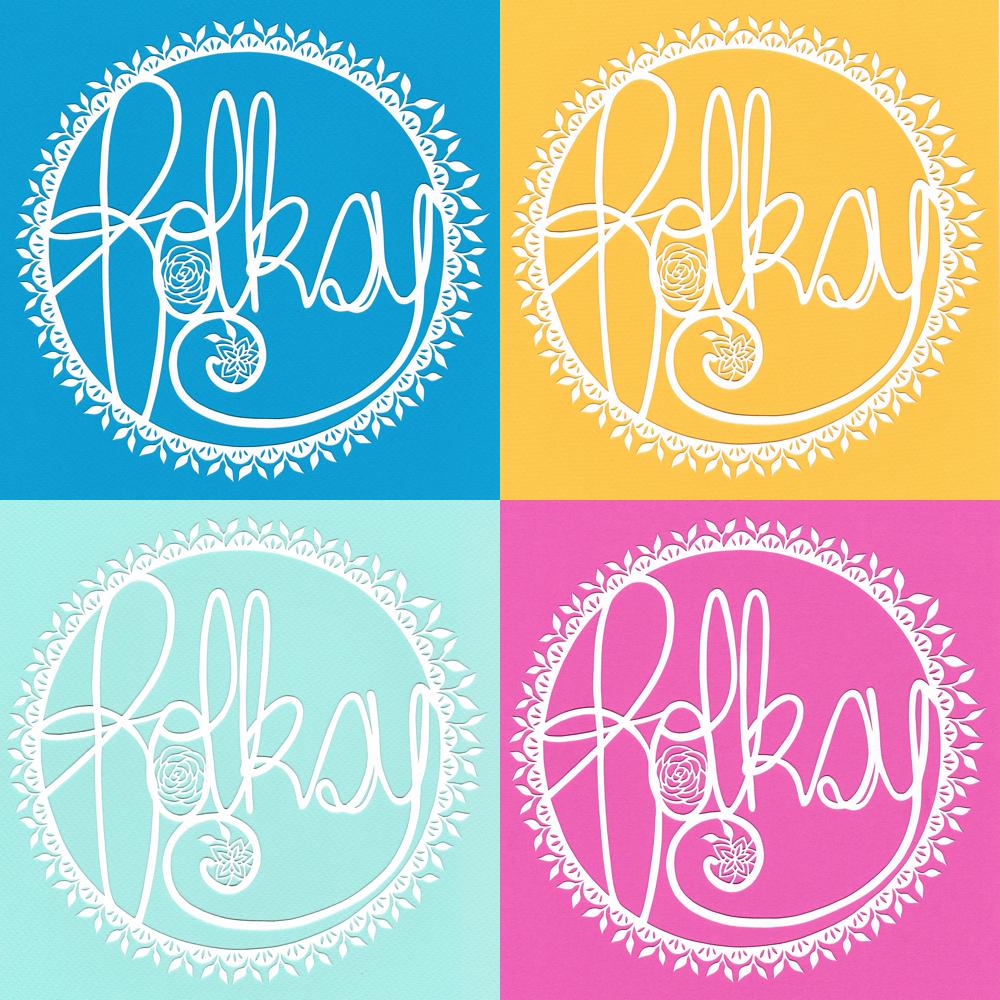 papercut logo, folksy logo, gemma esprey