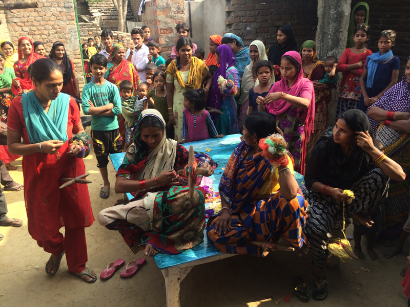 My creative business: A Yarn Journey to Bihar, India