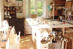 How to organise your home office when it's also your craft room