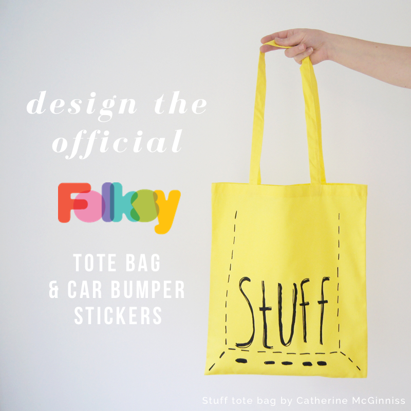 Design a Folksy Tote Bag and Bumper Sticker Competition!