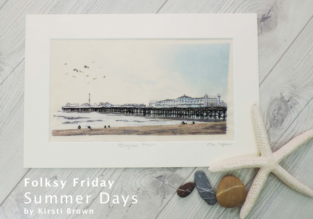 Folksy Friday, Summer Days, Kirsti Brown Ceramics