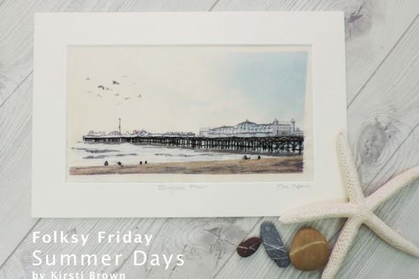 Folksy Friday, Summer Days, Kirsti Brown Ceramics