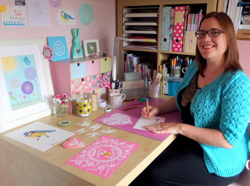 gemma esprey, papercutting, papercut artist, uk