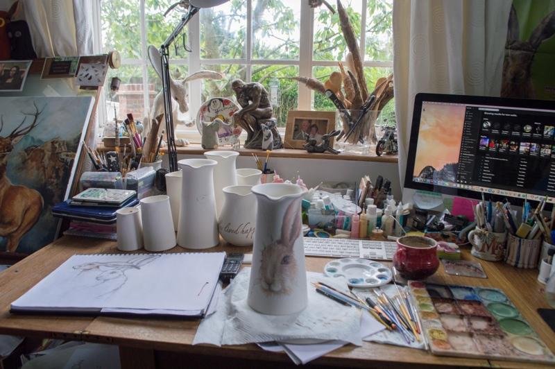 Heather Richards, British potter, handmade pottery