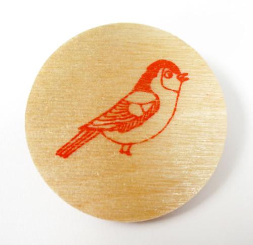 boodle boutique, bird brooch