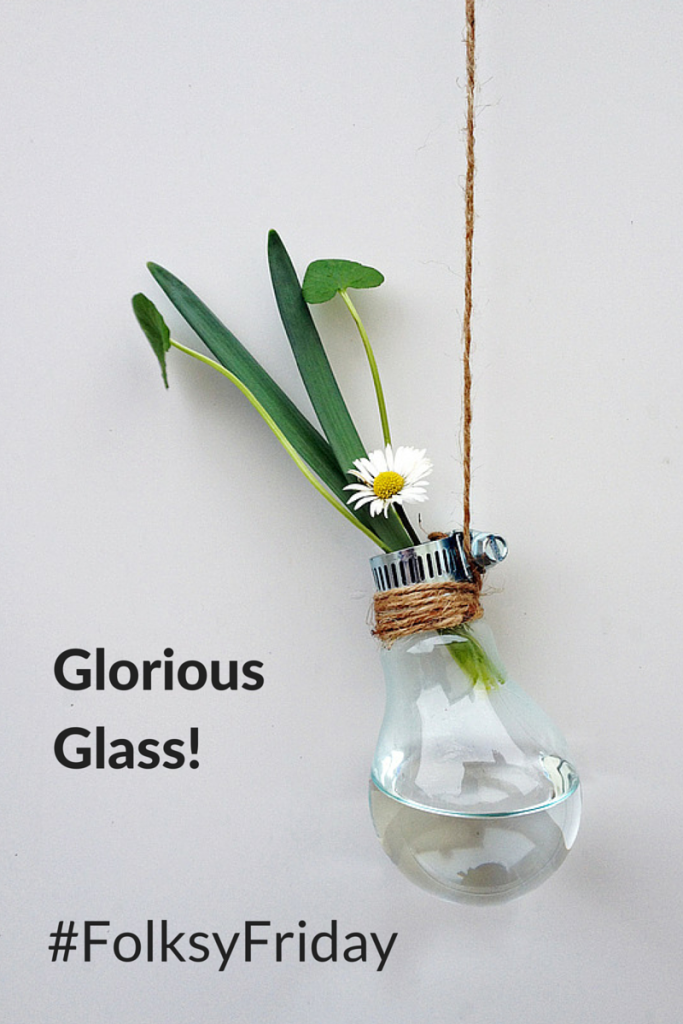 #FolksyFriday – Glorious Glass by Sasha Garrett