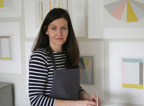 Emma Lawrenson, Little Print Press, Printmaker, mid-century prints, Yorkshire artist, Holmfirth, Mad Men art