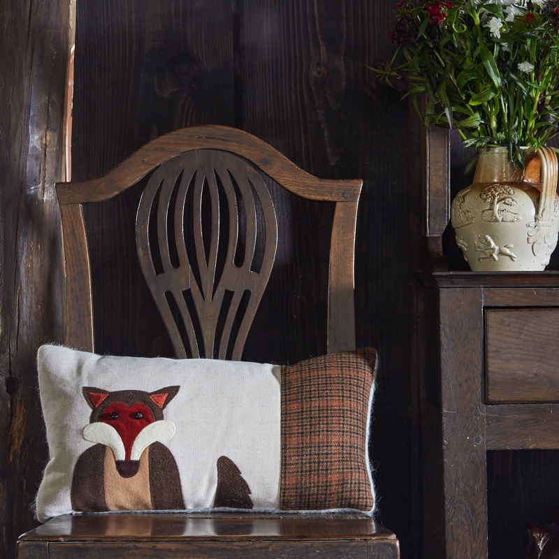 seaforth, fox cushion, tweed, styled product shots, photography tips