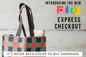 Introducing the new Folksy Express Checkout!