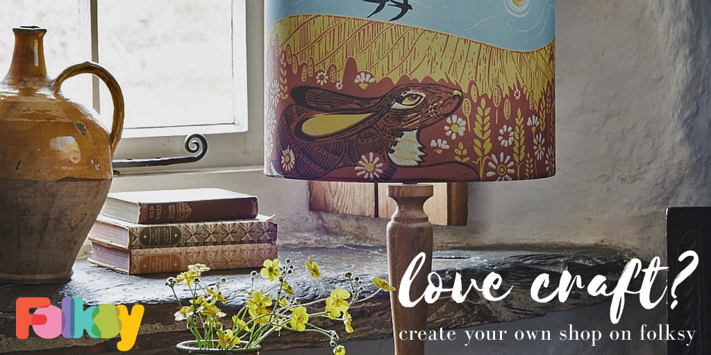 sell on folksy banner