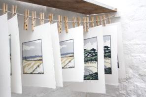 Meet Fiona Carver – printmaker of the sea and the coast