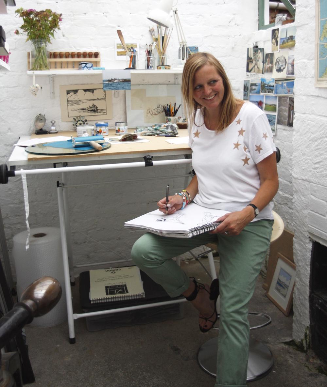 Fiona Carver, printmaker